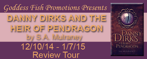NBTMR Danny Dirks and the Heir of Pendragon Tour Banner